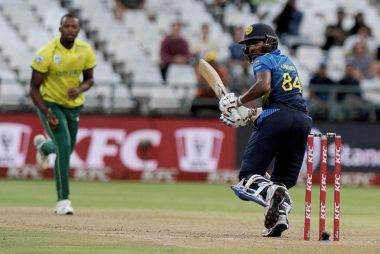 Sri Lanka lost the first T20I against South Africa in super over. AP