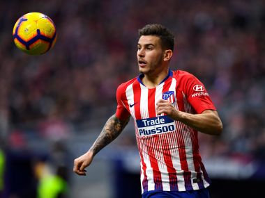 Bundesliga Bayern Munich signing Lucas Hernandez trains with squad for first time since undergoing surgery on knee