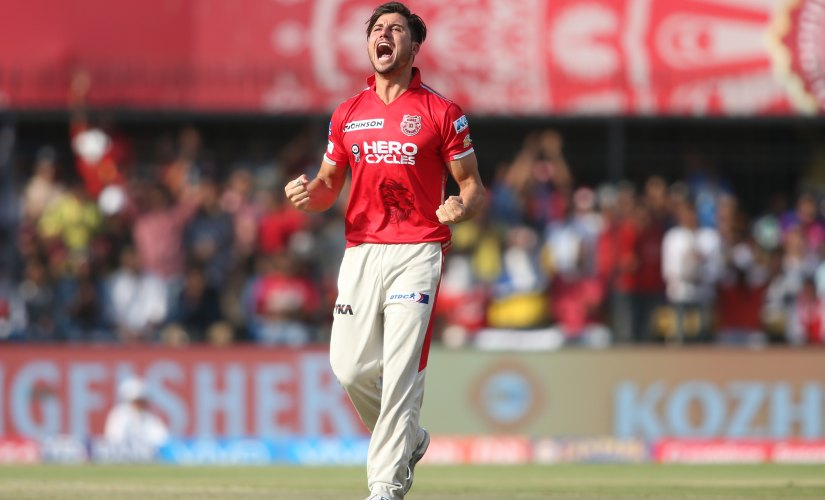 Marcus Stoinis has played three seasons in IPL, all for Kings XI Punjab. Sportszpics