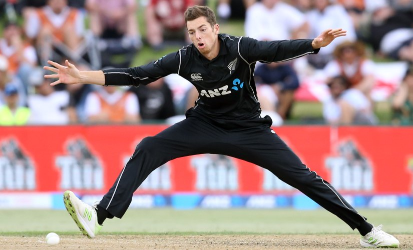 Mitchell Santner missed the whole of 2018 season due to a knee injury. AFP