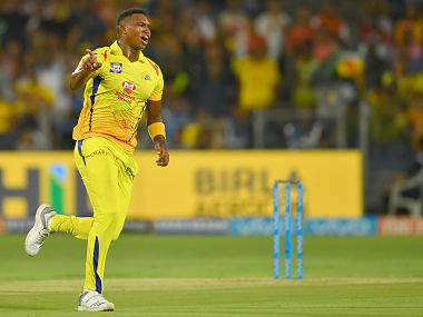 Chennai Super Kings cricketer Lungi Ngidi celebrates after taking the wicket of Kings XI Punjab cricketer KL Rahul during the 2018 Indian Premier League (IPL) Twenty20 cricket match between Chennai Super Kings and Kings XI Punjab at the Maharashtra Cricket Association Stadium in Pune on May 20, 2018. (Photo by INDRANIL MUKHERJEE / AFP) / ----IMAGE RESTRICTED TO EDITORIAL USE - STRICTLY NO COMMERCIAL USE----- / GETTYOUT