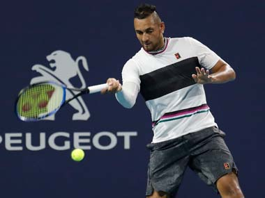 Australian Nick Kyrgios fined almost 20000 for Queens Club antics