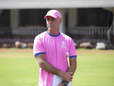 Paddy Upton is back with Rajasthan Royals
