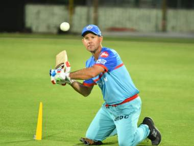 File image of DC coach Ricky Ponting. Twitter @DelhiCapitals