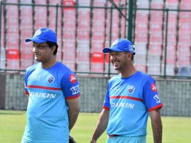 Delhi Capitals head coach Ricky Ponting aid he's under a lot of pressure going into the new season of IPL. Twitter @DelhiCapitals