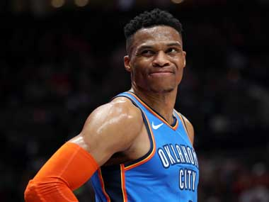 NBA Playoffs 2019 Russell Westbrook hits back at critics after series loss says hell become a better shooter next season