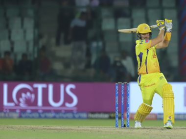 CSk's Shane Watson was declared the Man of the Match for scoring 44 off 26 on a slow pitch. Sportzpics