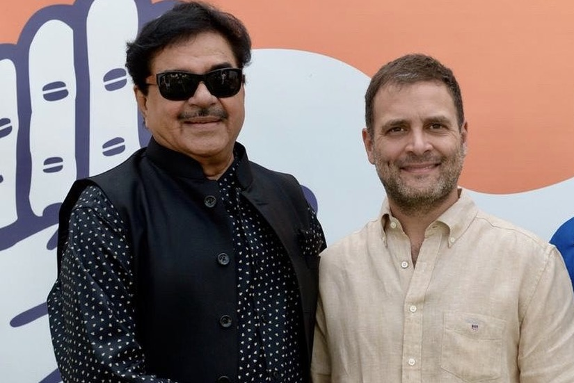 Shatrughan Sinha set to join Congress ExBollywood star struggles for political relevance ahead of Lok Sabha polls