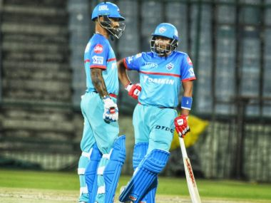 File image of Shikhar Dhawan (L) and Prithvi Shaw. Twitter @DelhiCapitals