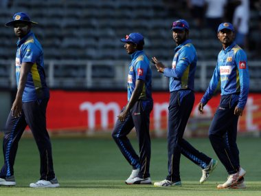 Sri Lanka were handed a 5-0 drubbing by South Africa in the five-match ODI series. AP