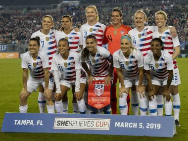 US womens football team files discrimination lawsuit against national federation demanding equal pay