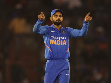 Virat Kohli said 'inconsistent' DRS is becoming a talking point after every game. AP