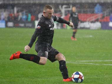 MLS Wayne Rooneys DC United defeat defending champions Atlanta United in rainhit season opener