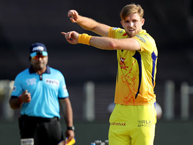 David Willey of Chennai Super Kings during match thirty five of the Vivo Indian Premier League 2018 (IPL 2018) between the Chennai Super Kings and the Royal Challengers Banglore held at the Maharashtra Cricket Association Cricket Stadium, Pune on the 5th May 2018. Photo by: Prashant Bhoot /SPORTZPICS for BCCI