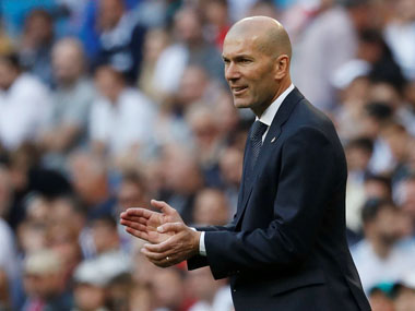 La Liga Zinedine Zidane unfazed by injured Gareth Bales Wales callup says winger not ready to play