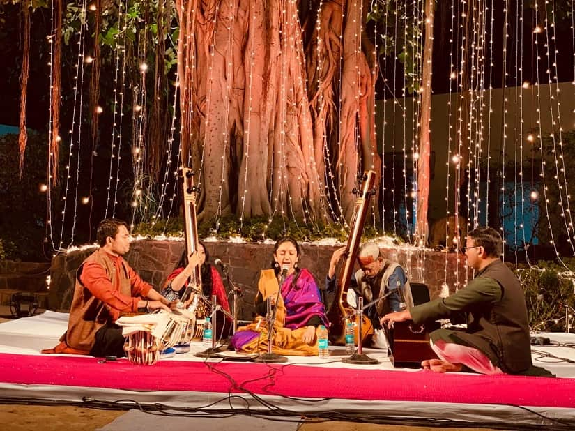 Under the Banyan Tree on a Full Moon Night An unusual cultural evening is a reminder of how lovely Delhi can be