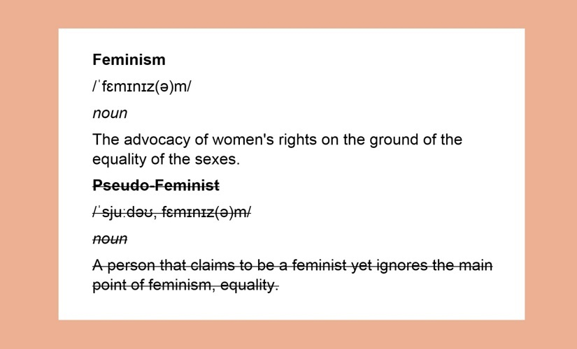 The pseudofeminism problem Why people are compelled to brand others as fake and turn ideology into a skill