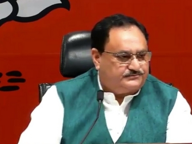 JP Nadda says BJPs membership set to increase by seven crore following nationwide drive total strength likely to reach 18 crore