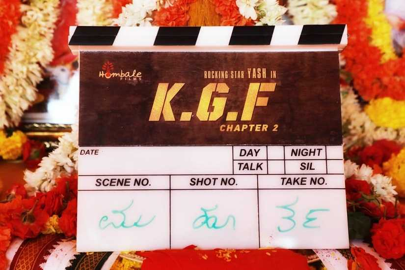 KGF Chapter 2  Yash director Prashanth Neels sequel to Kannada action film goes on floors