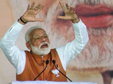 Congress blinded by antiNarendra Modi approach stopped thinking in nations interest says PM in Jammu rally