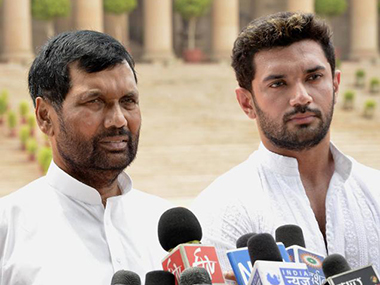 Jharkhand elections After AJSU BJP ally LJP ditches saffron party to go solo in state party to contest in 50 seats says Chirag Paswan