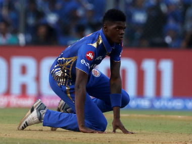 Alzarri Joseph got off to a dream start, collecting 6/12 on IPL debut, only to get ruled out due to injury after three games. Sportzpics