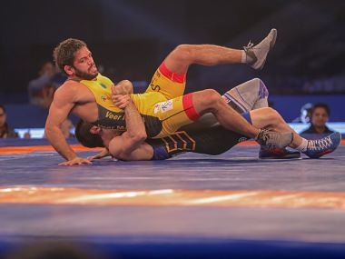 Asian Wrestling Championships With advice from Sushil Kumar Amit Kumar Dhankar spices up 74kg weight class