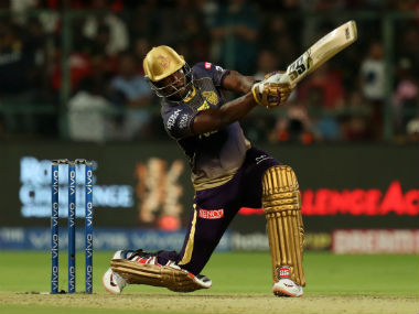 Andre Russell has guided KKR to some memorable wins already. Sportzpics