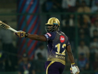 Andre Russell finds himself at the fourth spot in the top run-getters list of IPL 2019. Sportzpics