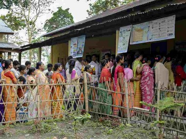 Violence EVM glitches mar phase 3 of Lok Sabha polls in West Bengal Assam Tripura cross 80 mark Odisha sees poor turnout