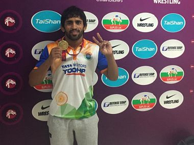 Vinesh Phogat Bajrang Punia recommended for Rajiv Gandhi Khel Ratna award by Wrestling Federation of India