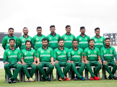 Bangladesh's all green jersey for the World Cup that was later changed by the BCB.