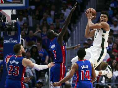 NBA Playoffs 2019 Bucks finish sweep of Pistons for first series victory since 2001 Jazz stave off elimination with win
