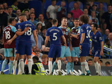 Premier League Chelsea drop crucial points in frsutrating draw with antifootball Burnley as quest for topfour continues