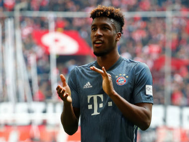 Bundesliga Kingsley Comans firsthalf brace fires Bayern Munich back to top with easy win over Fortuna Duesseldorf