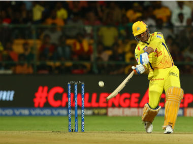 CSK are heavily reliant on MS Dhoni's batting this season. Sportzpics