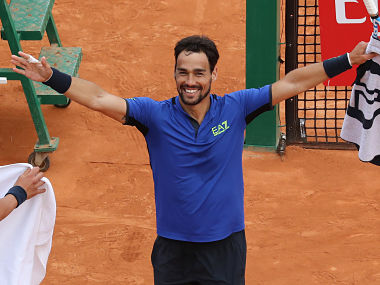 Monte Carlo Masters Rafael Nadal endures worst clay court match as Fabio Fognini storms into final