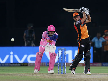 Manish Pandey of Sunrisers Hyderabad in action against Rajasthan Royals. Sportzpics