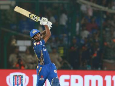 Hardik Pandya was declared the man of the match for making 32 off 15 and taking one wicket. Sportzpics
