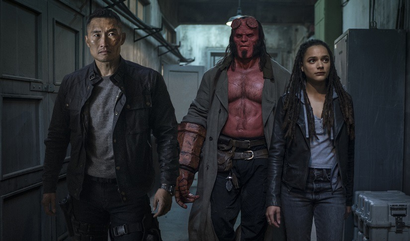 Hellboy movie review This reboot promises to be darker bloodier and edgier but doesnt fully deliver