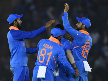 File image of Indian cricket team.