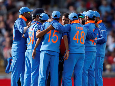 File image of the Indian cricket team. Reuters
