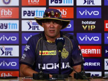 KKR lost to CSK by five wickets. Sportzpics