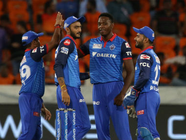 Kagiso Rabada emerged the pick of the Delhi Capitals bowlers with figures of 4/22. Sportzpics