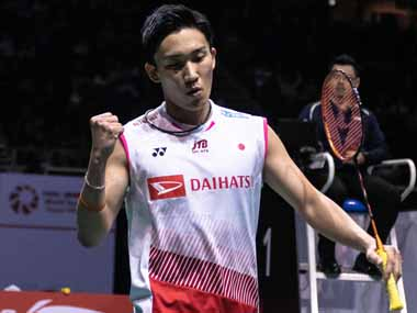 Singapore Open 2019 Kento Momota fights back from behind to win mens singles title Tai Tzu Ying outfoxes Nozomi Okuhara