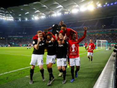 DFBPokal Scandinavian duo Emil Forsberg Yussuf Poulsen team up to fire RB Leipzig to firstever German Cup final