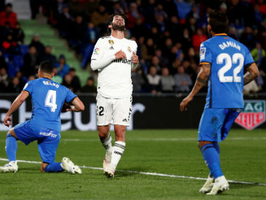 LaLiga Zinedine Zidanes Real Madrid hit another low as Champions League chasers Getafe manage a goalless draw