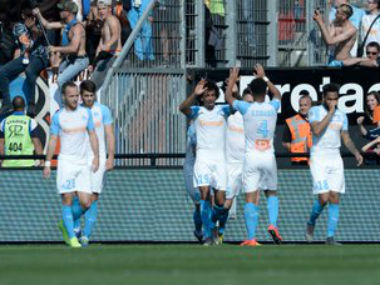 Ligue 1 Marseille keep hopes of qualifying for next seasons Champions League alive with victory over Guingamp
