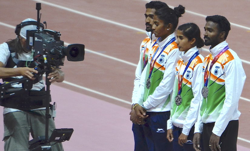 Asian Athletics Championships 2019 Clumsy baton exchanges during relay events prove costly for Indian teams