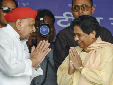 SPBSP joint rally in UP Mayawati Mulayam Singh Yadav forget bitter past in quest to defeat Narendra Modi